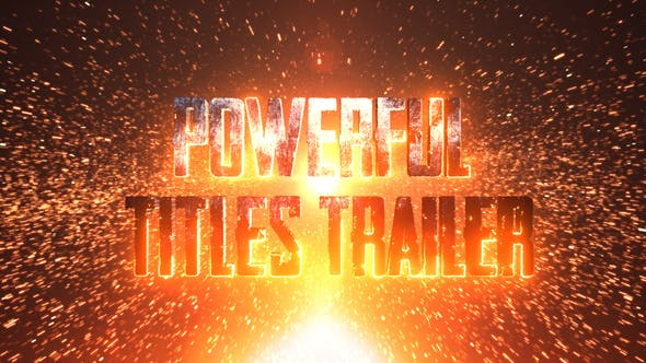 Thumbnail for Powerful Title Trailer