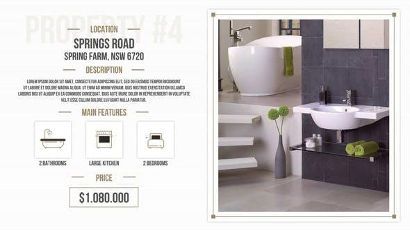 Thumbnail for Minimal Real Estate Slides