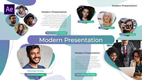 Thumbnail for Clean Modern Presentation