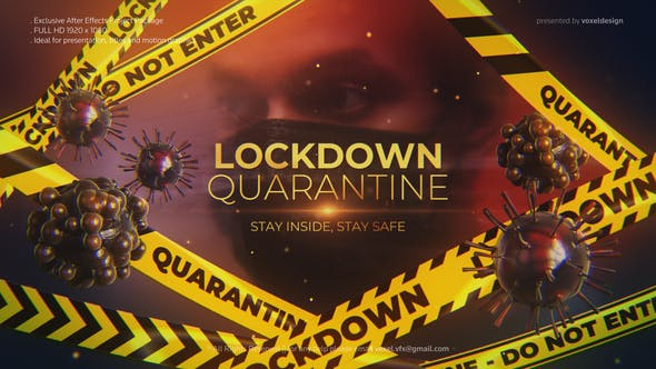 Thumbnail for Lockdown Quarantine Cinematic Title