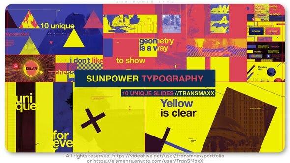 Thumbnail for Sun Power Typo