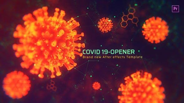 Thumbnail for Covid Opener MOGRT