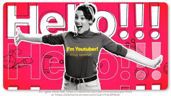 Los  secretos de Melinda. Abridor de blogs de Youtube