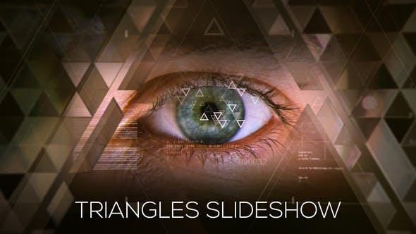 Presentación de diapositivas de triángulos