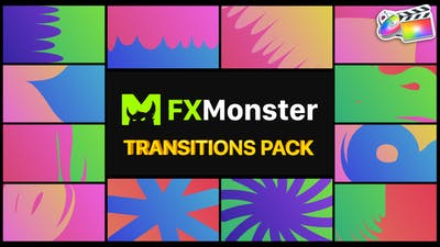 Colorful Transitions   FCPX