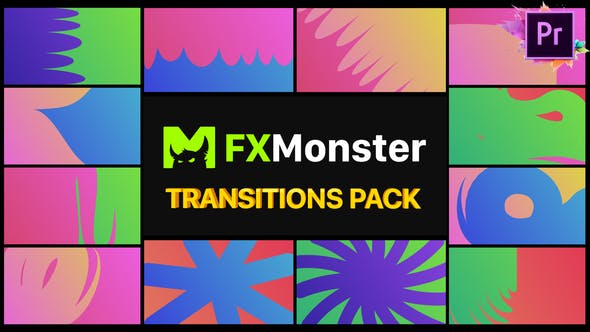 Thumbnail for Colorful Transitions | Premiere Pro MOGRT