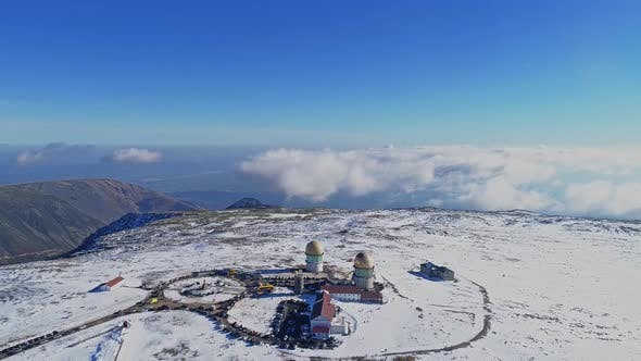 Thumbnail for Mountain Top Winter Snow. Serra da Estrela, Portugal
