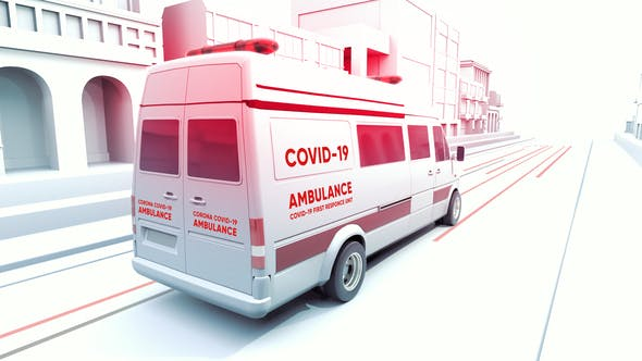 Thumbnail for Covid-19 3D Medical Promo