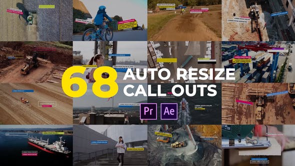 Thumbnail for Auto Resizing Call-Outs l MOGRT for Premiere Pro