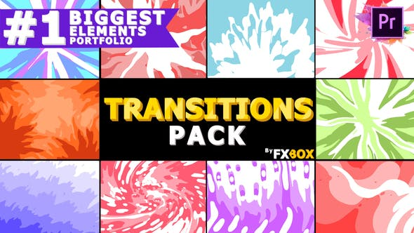 Thumbnail for Smooth Transitions Pack | Premiere Pro MOGRT