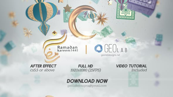 Thumbnail for Ramadan Kareem Opener  l  Ramadan Kareem Wishes  l  Islamic Quran Month  l  Ramadan Celebrations