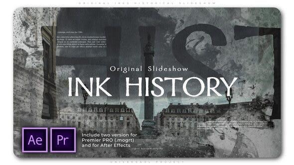 Thumbnail for Original Inks Historical Slideshow