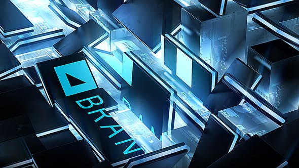 Hardware GPU Chip Logo Reveal