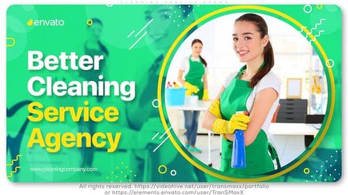 Cleaning Service Promo