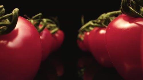 Juicy fresh tomatoes