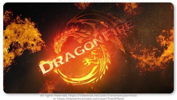 DragonS Fire Logo Reveal