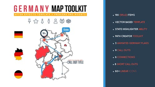Germany Map Toolkit