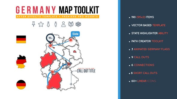 Thumbnail for Germany Map Toolkit