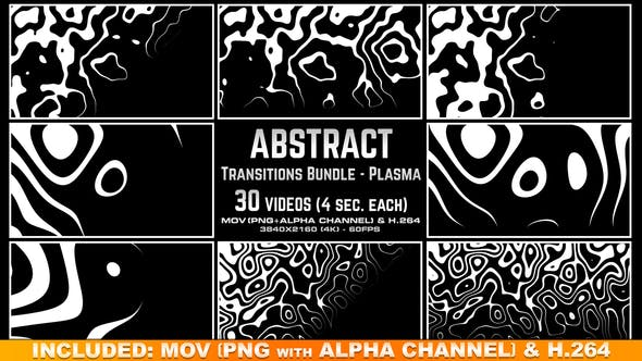Thumbnail for Abstract Transitions Bundle - Plasma 4K