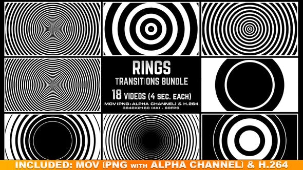 Thumbnail for Rings Transitions Bundle - 4K