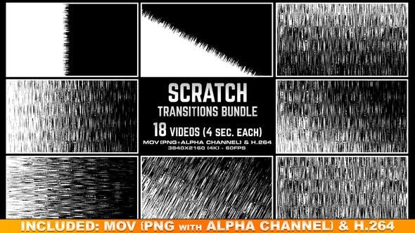 Scratch Transitions Bundle 4K