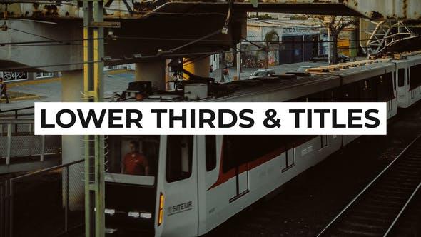 Thumbnail for Deux en un — Banderoles vidéo et titres