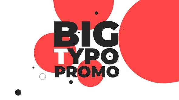 Cover Image for Big Typo Promo