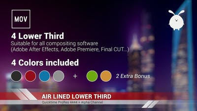 Air Lined Lower Third