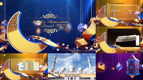 Ramadan_Eid_ Broadcast Package / Opener