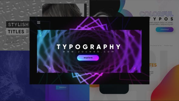 Thumbnail for Unique Modern Typography