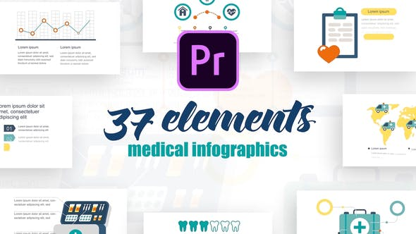 Thumbnail for Infographics Vol.3 for Premiere Pro