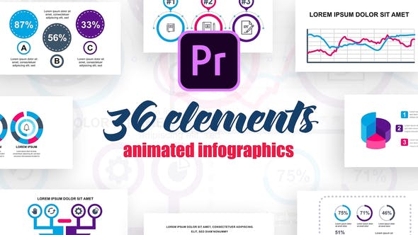 Technology Infographics №4 for Premiere Pro - product preview 0