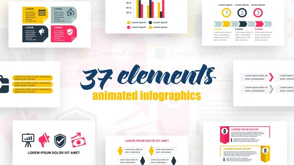 Thumbnail for Infographies de démarrage Vol.31