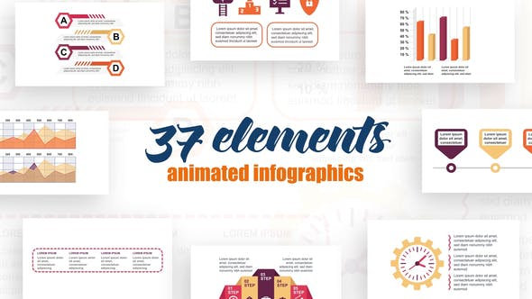 Thumbnail for Technology  Infographics Vol.32