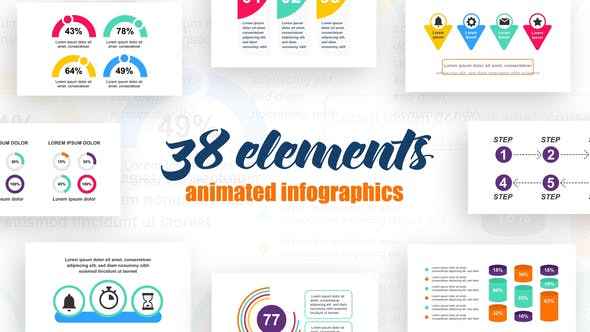Thumbnail for Corporate Infographics Vol.35