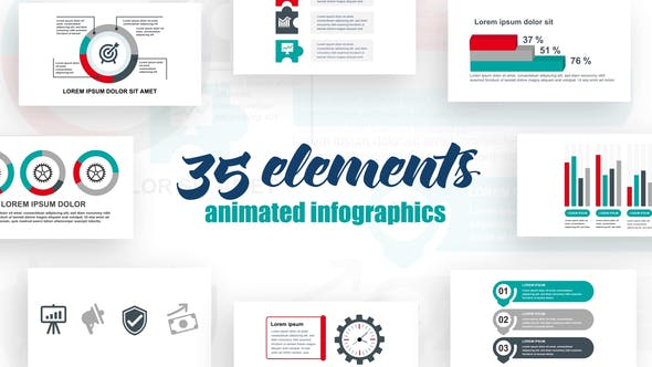 Thumbnail for Business Infographics Vol.36