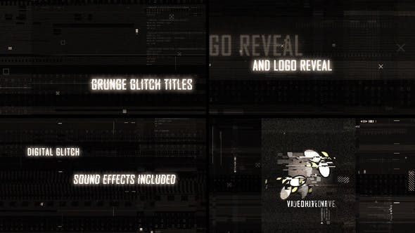 Thumbnail for Glitch Titles Trailer and Logo Reveal