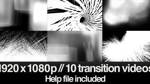 10 HD Transitions Bundle - E
