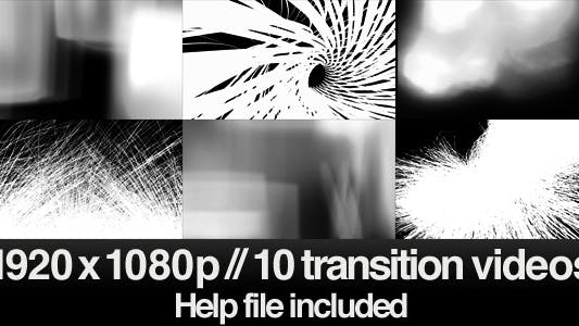 Thumbnail for 10 HD Transitions Bundle - E