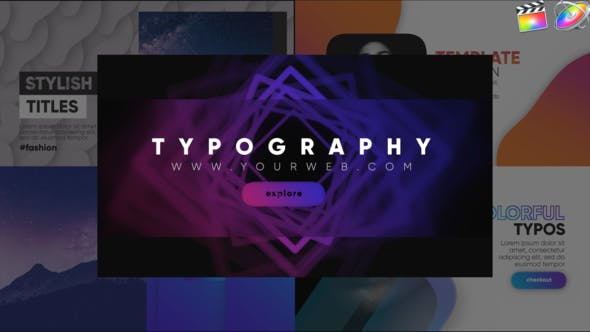 Thumbnail for Typography Modern Pack