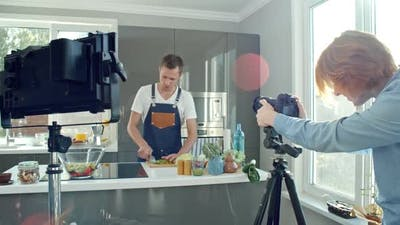 Filming Cooking Show