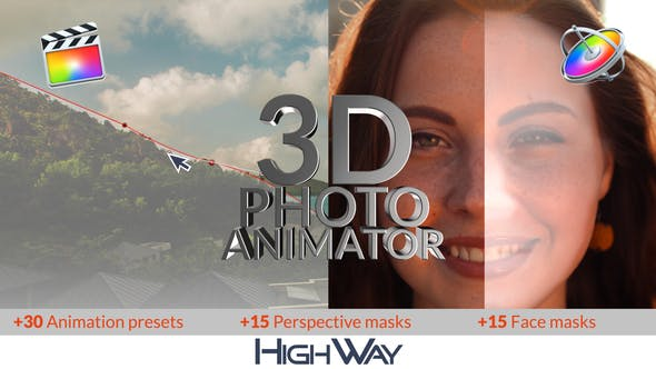 Thumbnail for 3D Photo Animator for FCPX