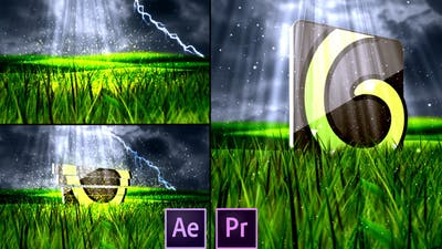 Nature Spring Logo - Premiere Pro