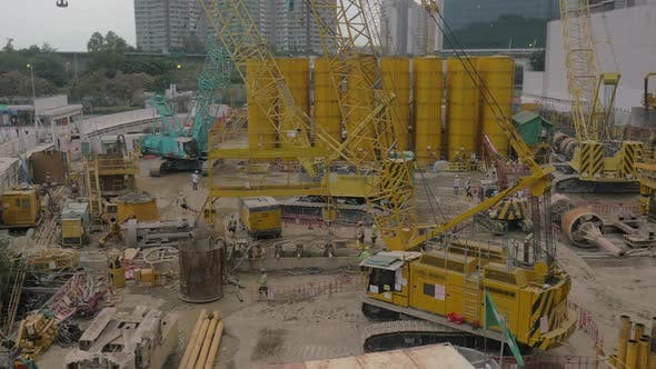 Thumbnail for Works on Construction Site in Hong Kong