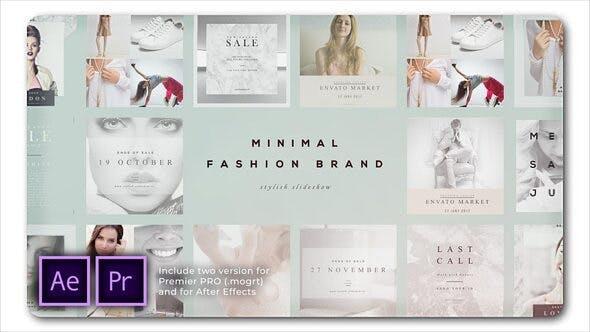 Thumbnail for Fashion Brand Minimal Slideshow