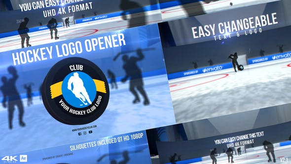 Thumbnail for Hockey Logo Opener v2
