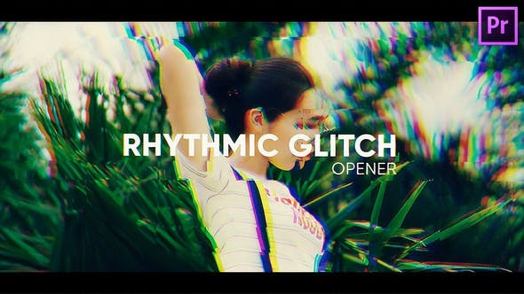 Thumbnail for Rhythmic Glitch Opener for Premiere Pro