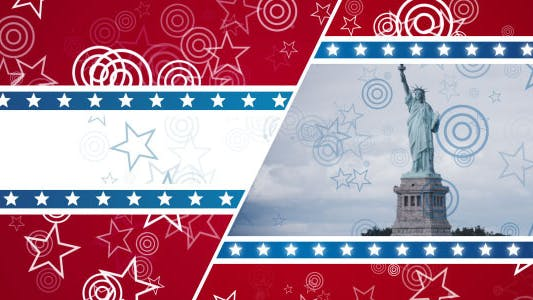 Thumbnail for Patriotic Stars - Background & Overlay Set