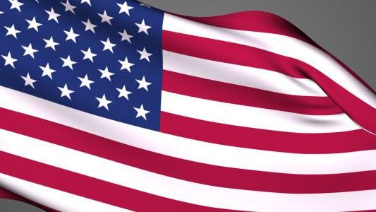Thumbnail for USA Flag Hoisting Transition