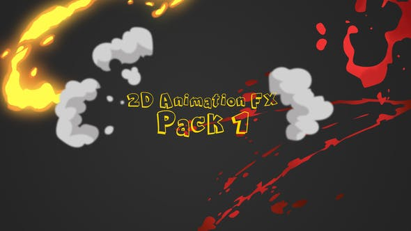 Thumbnail for 2D Animation Fx Pack 1